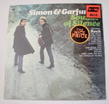 Simon Garfunkle Sounds of Silence Sealed LP Record