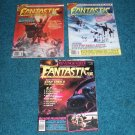 3 Fantastic Films Magazines from 1981 & 1982, Flash Gordon, The Thing