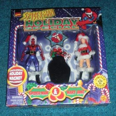 Holiday Spiderman & Mary Jane Christmas Action Figures