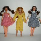 3 Mego Dolls,  2 Dorothy Wizard of Oz and Dinah-Mite