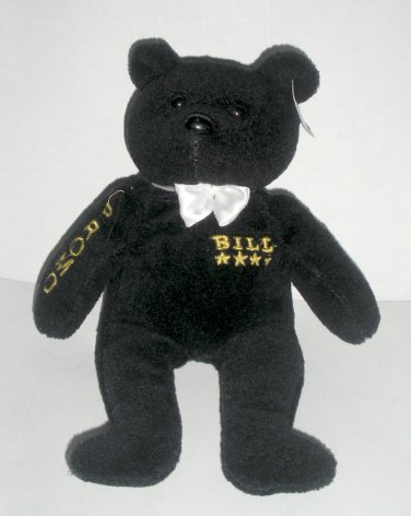 Bill Clinton Beanie Bear Plush Promo