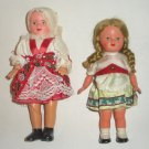 2 International World Dolls, German and Milan
