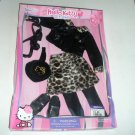 Hello Kitty Sanrio Doll Leopard Skirt Jacket Clothes