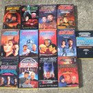 Star Trek The Next Generation 13 Paperback Books