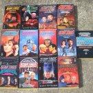 Star Trek The Next Generation 13 Paperback Books