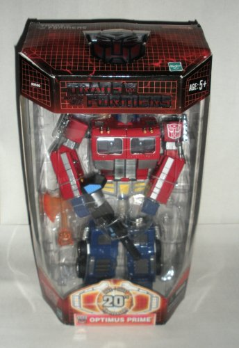 Transformers Optimus Prime 20th Anniversary Die Cast Action Figure