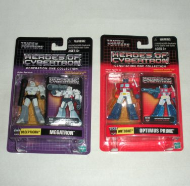 Transformers Heroes of Cybertron Optimus Prime & Megatron