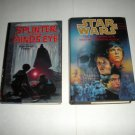 Star Wars Splinter of the Mind, Alan Foster, The New Rebellion, Rusch HC Book