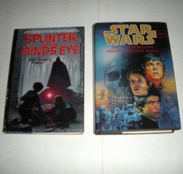 Star Wars Splinter of the Mind, Alan Foster, The New Rebellion, Rusch HC Book