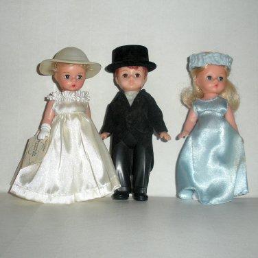 McDonalds Madam Alexander Dolls Bride Groom Lot1