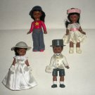 McDonalds Madam Alexander Dolls African American Bride Lot2