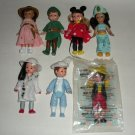 McDonalds Madam Alexander Dolls Disney Peter Pan Minnie Cruella Lot4