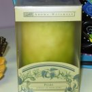 POIRE PILLAR CANDLE ESSENCE OF FRESH PEARS NATURAL FRUIT AROMA NEW AROMA NATURALS