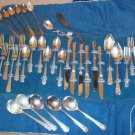 wm Rogers. Lido 1938 silverplate service place setting for SIX 39 TOTAL PCS.