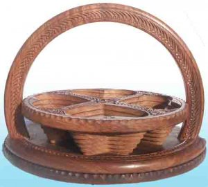 Large Handmade Collapsible/folding Dry Fruit Basket