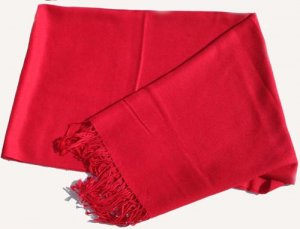 Pashmina Stole - Red