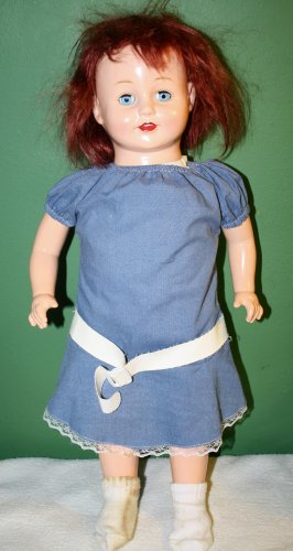 1991 18� DOLLY ROSEBUD HORSMAN COMPOSITION DOLL