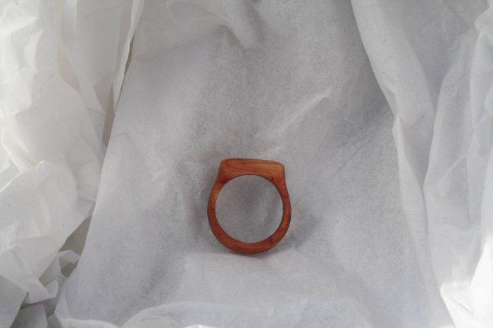 Juniper Wooded Ring