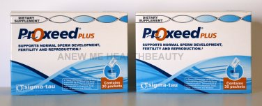 New! Proxeed-Plus Male fertility Supplement-2 boxes (one months supply)