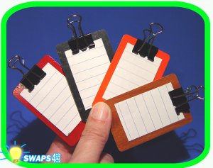Mini Clipboard Scout SWAPS Girl Craft Kit - Swaps4Less
