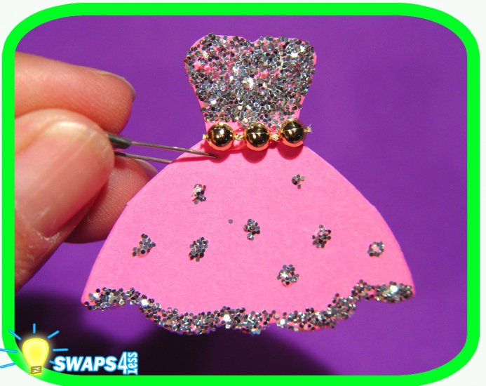 Princess Dress  Scout SWAPS Girl Craft Kit- Swaps4Less