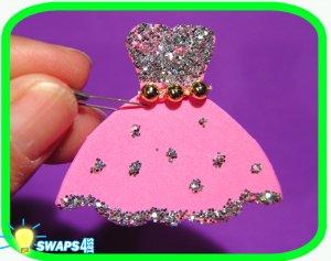 Princess Dress  Scout SWAPS Girl Craft Kit- Swaps4Less