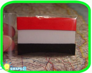 Flag of Egypt  Scout SWAPS Girl Craft Kit- Swaps4Less