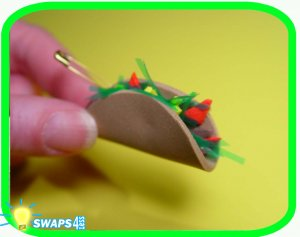 Mini Taco Scout SWAPS Girl Craft Kit-Swaps4Less