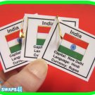 India Fun Facts Scout SWAPS Girl Craft  Kit-Swaps4Less