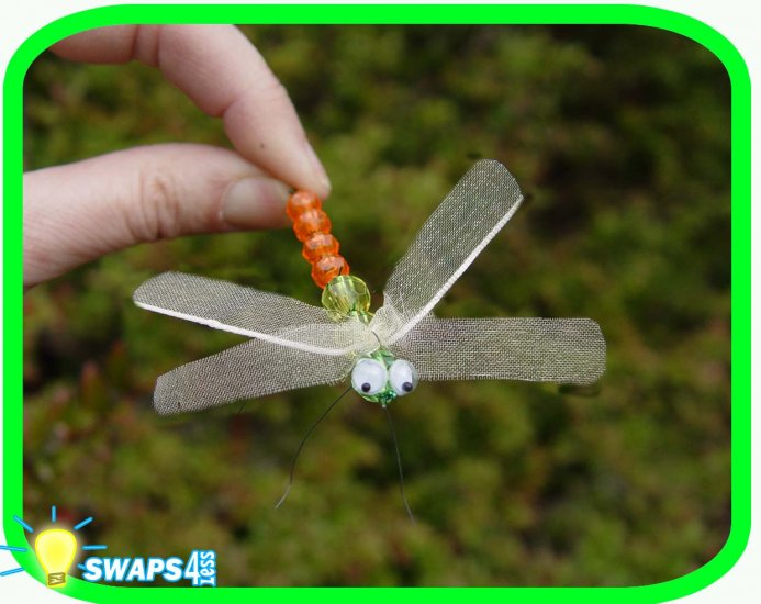 Dragonfly (c) Scout SWAPS Girl Craft Kit -Swaps4Less