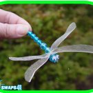 Dragonfly (Blue) Scout SWAPS Girl Craft Kit - SWAPS4less