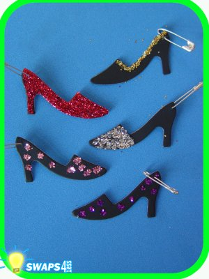 High Style Shoe  Scout SWAPS Girl Craft Kit-Swaps4Less
