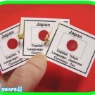 Japan Fun Facts Scout SWAPS Girl Craft Kit-Swaps4Less