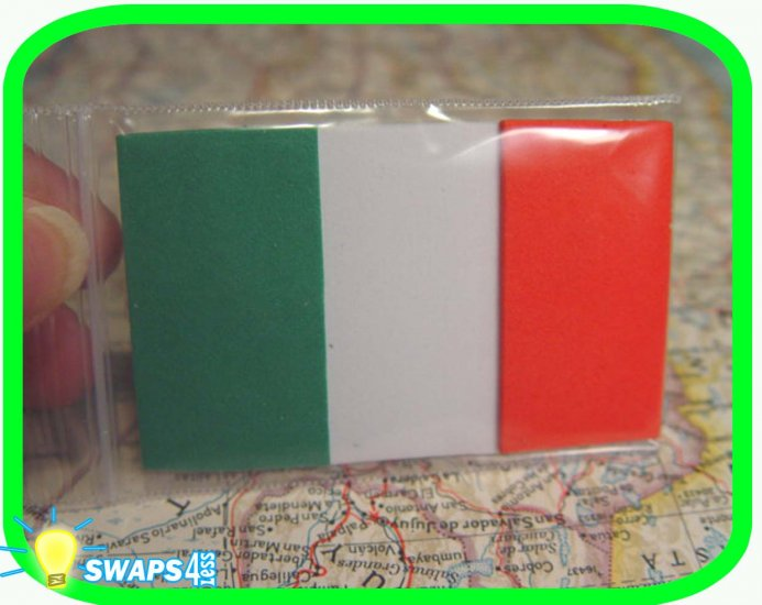Flag of Italy Scout SWAPS Girl Craft Kit- Swaps4Less