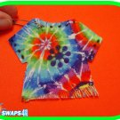 Groovy Tie Dye Shirt Scout SWAPS Girl Kit - Swaps4Less