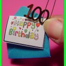 """HAPPY BIRTHDAY Girl Scout 100th Anniversary Card! SWAPS Girl Craft Kit - Swaps4Less"""