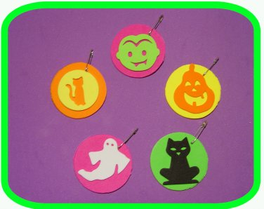 """Halloween Spookies!     """"Girl Scout"""" or """"Boy Scout"""" SWAPS Craft Kit by Swaps4Less.com"""