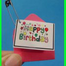 Juliette, HAPPY BIRTHDAY! Card for Girl Scouts! SWAPS Girl Craft Kit - Swaps4Less