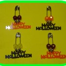 HAPPY HALLOWEEN! Coil-less Charm Pin Scout SWAP Girl Craft Kit from Swaps4Less