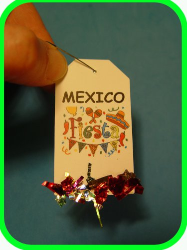MEXICO!  Fiesta Fun -  Scout SWAPS Girl Craft Kit - Swaps4Less
