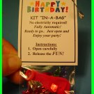 Juliette, Happy Birthday! Party-in-a-Bag  -  Scout SWAPS Girl Craft Kit - Swaps4Less