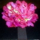 Veronica - Magenta Flower Headband