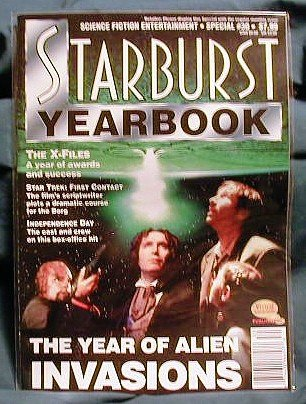 X-FILES ! STARBURST YEARBOOK SPECIAL #30