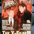 X-FILES ! TV ZONE #84 - BRITISH MAGAZINE