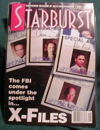 X-FILES ! STARBURST MAGAZINE #209 JAN 1996