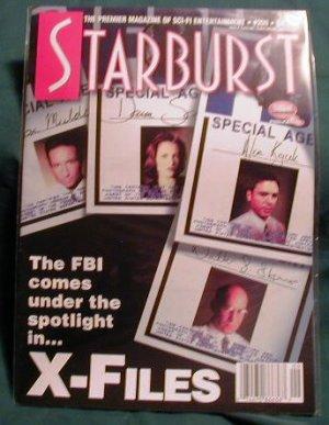 X-FILES ! STARBURST MAGAZINE #209 JAN 1996