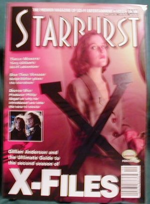 X-FILES ! STARBURST MAGAZINE #212 APR 1996