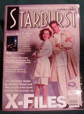 X-FILES ! STARBURST MAGAZINE #213 MAY 1996
