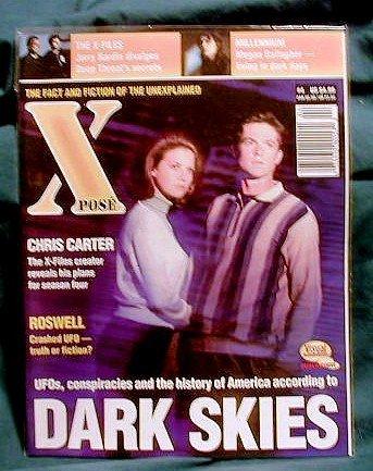 X-FILES ! XPOSE MAGAZINE #4 - NOV 1996