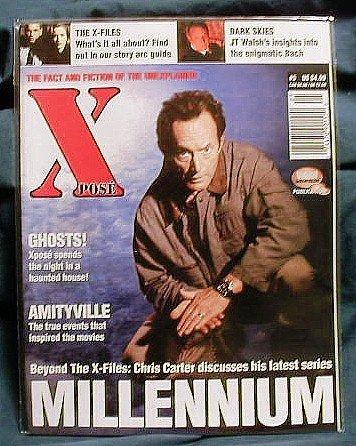 X-FILES ! XPOSE MAGAZINE #5 - DEC 1996